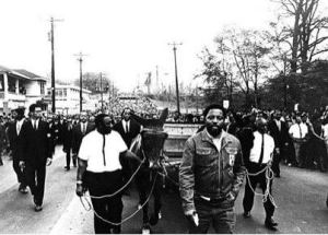 Funeral Procession of the Rev. Dr. Martin Luther King, April 9, 1968