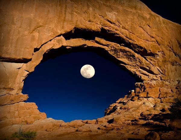 moon God is watching you