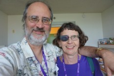 Michael and me at the Summer Institute in LA